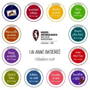 Un anno insieme al Museo Archeologico / Un mosaico di colori!