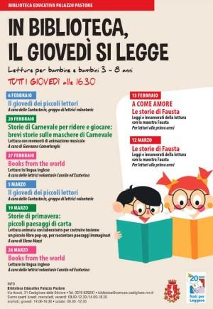 In Biblioteca, il giovedì si legge / Storie di Carnevale