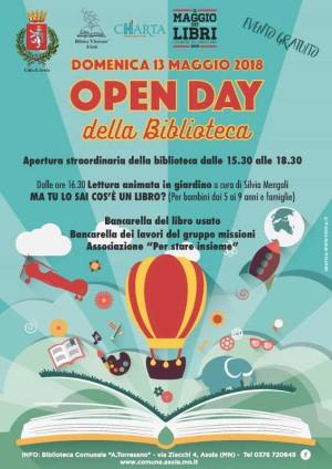 Open-Day della Biblioteca di Asola