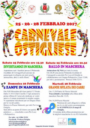 Carnevale Ostigliese 2017