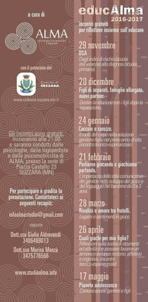 EducAlma 2016-2017 / Pianeta adolescenza