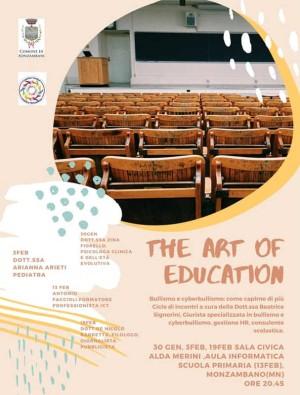 The Art of Education, conferenze per genitori