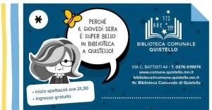 Giovedì sera in biblioteca / Dialetto!