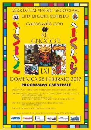 Carnevale con Re Gnocco 2017