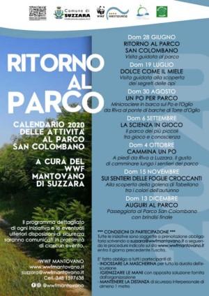 Ritorno al Parco San Colombano