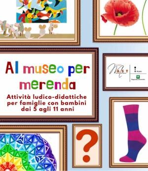 Al museo per merenda / Creiamo con le calze