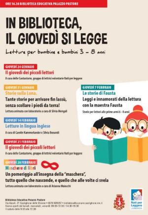 In Biblioteca, il giovedì si legge / Letture in lingua inglese