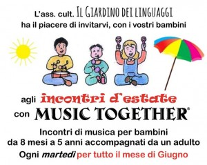 Incontri d'estate con Music Together
