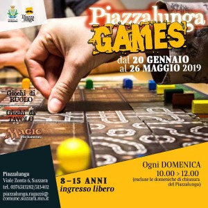 Piazzalunga Games / Autunno 2019