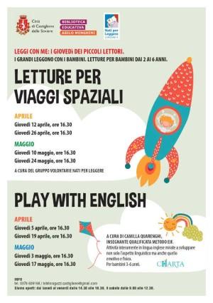 Letture per Viaggi Spaziali / Play with english