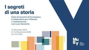 I segreti di una storia. Corso di formazione con Luca Ganzerla