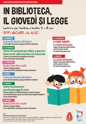 In Biblioteca, il giovedì si legge / Books from the world