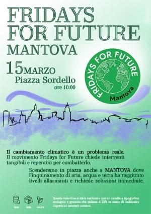 Mantova, Fridays For Future: mobilitiamoci per salvare il pianeta