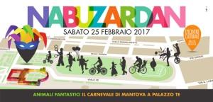 Nabuzardan, il Carnevale di Mantova a Palazzo Te