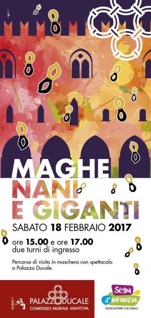 Maghe, nani e giganti, il Carnevale di Mantova a Palazzo Ducale