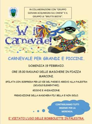Festa di Carnevale di Acquanegra