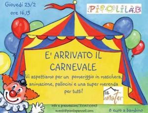È arrivato il Carnevale