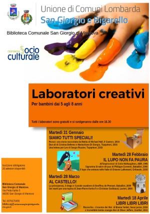 Laboratori creativi / Al castello!