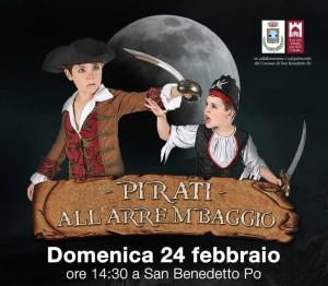 Pirati all'Arrembaggio, festa di Carnevale a San Bendetto Po